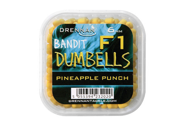DRENNAN F1 Dumbell 6mm Pineapple - dumbelky