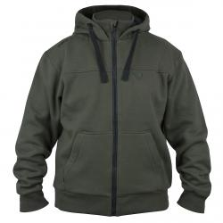 FOX Green & Black Heavy Lined Hoody | mikina