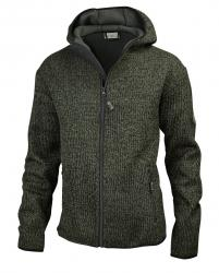 HUBERTUS Strick Fleece | pletená bunda