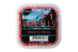 DRENNAN F1 Dumbell 6mm Crab&Krill - dumbelky