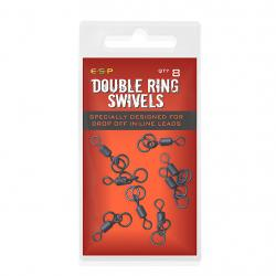 ESP Double Ring Swivels - obratlíky s dvojkrúžkom