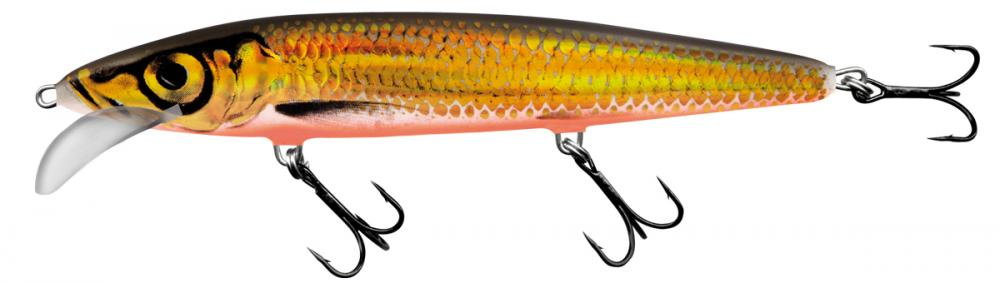 SALMO Gold Charteuse Shad Whacky 12cm | wobler